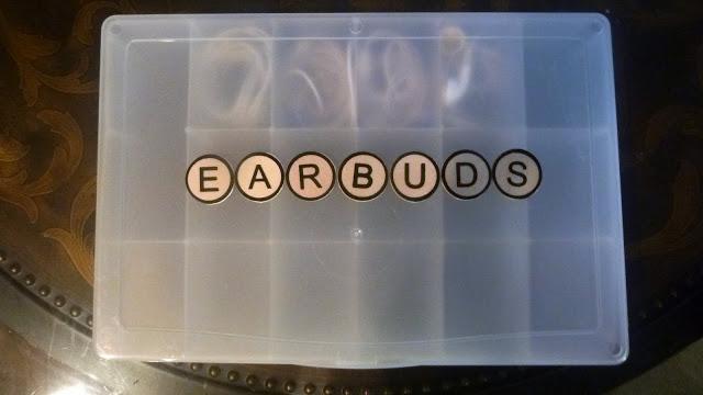 Earbud Storage