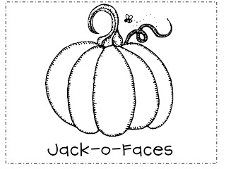 Jack O Faces FREEBIE