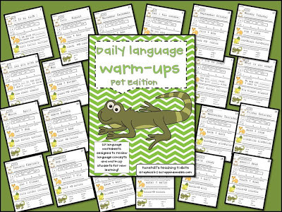 Daily Language Work