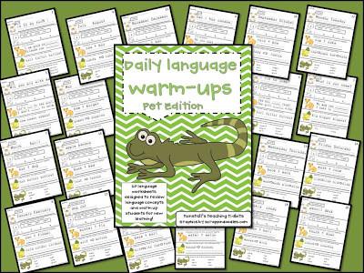 Daily Language Work