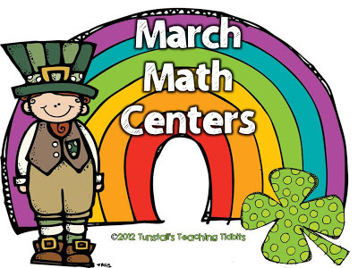 March Math Centers!