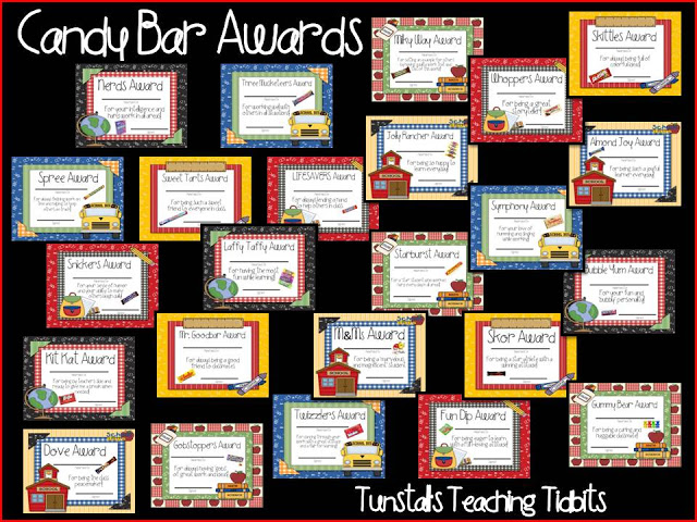 academic awards for elementary students tunstall s teaching tidbits