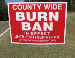 Currently Burn Ban!