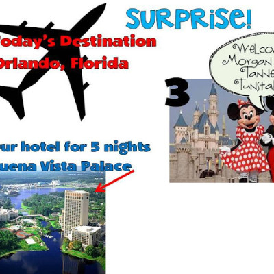 Surprise Vacation!