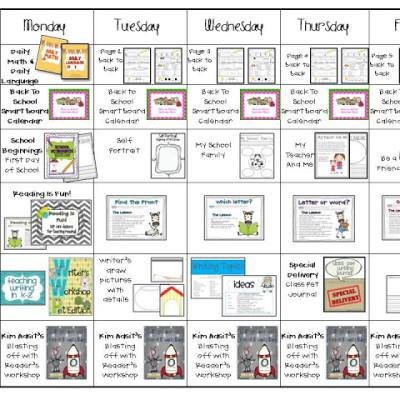 My Visual Lesson Plans!!