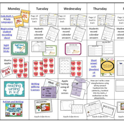 Visual Lesson Plans with Links!