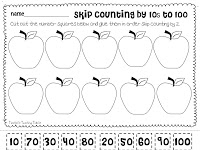 Skip Counting Freebie and My Week in Pictures - Tunstall\'s Teaching ...