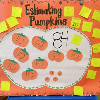 Freebies and Pumpkin Estimation Winner