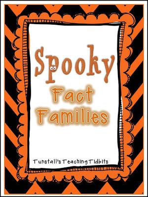 Spooky Fact Families Freebie