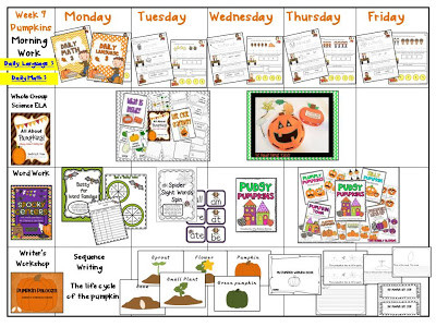 Pumpkin Week & Visual Plans