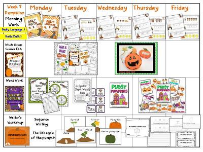 Pumpkin Week & Visual Plans