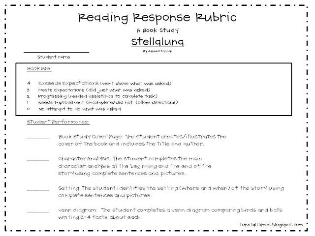 Bats, Stellaluna, and Visual Plans! - Tunstall's Teaching