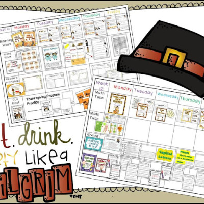 Party Pilgrim Style -Visual Plans
