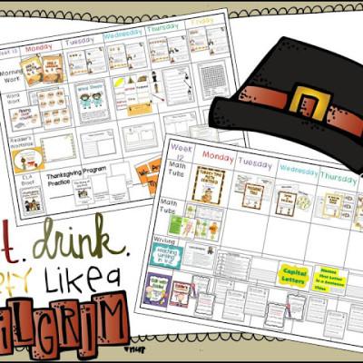 Party Pilgrim Style -Visual Plans