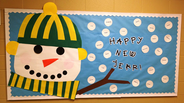 Classroom Pictures-Ready for January! - Tunstall's ...
