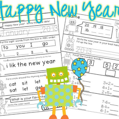 Visual Plans And New Year's Freebie