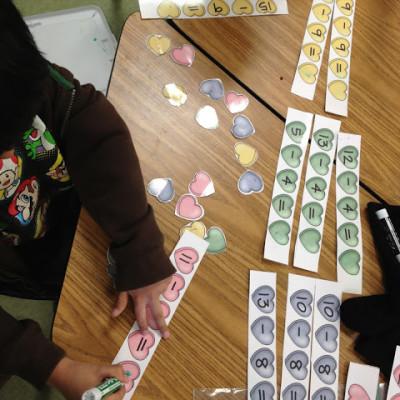 February Math Centers!