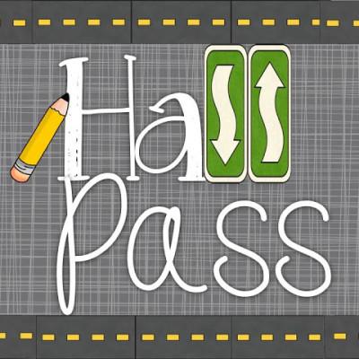 Hall Pass Linky!
