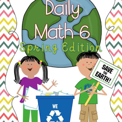 Spring Daily Math and Language