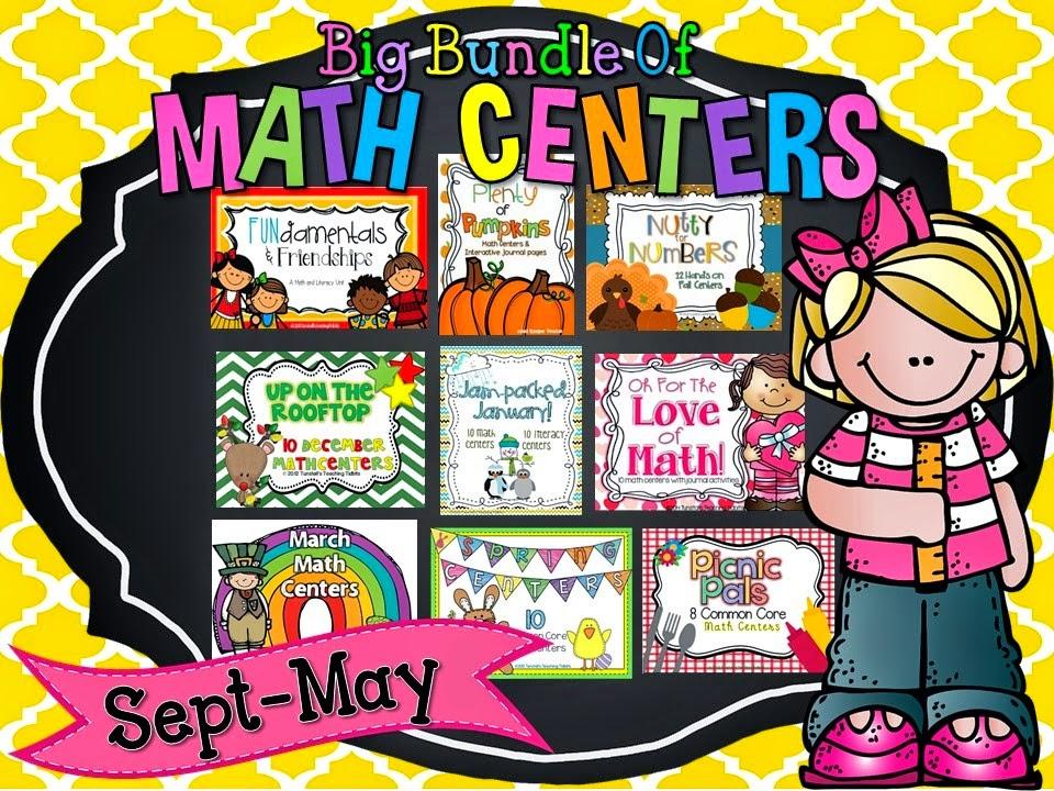 http://www.teacherspayteachers.com/Product/Big-Bundle-of-Math-Centers-1223175