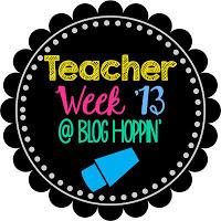 Teacher Week! Let's Talk about Me!
