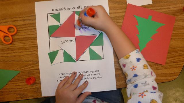 http://www.teacherspayteachers.com/Product/Geometric-Math-Quilts-161102