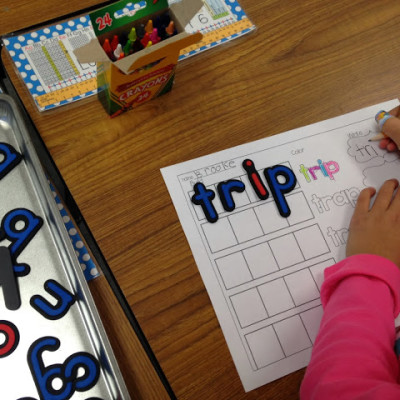 Purposeful Word Work —  Blends!