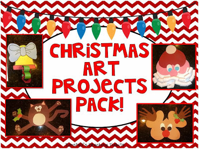 http://www.teacherspayteachers.com/Product/Christmas-Art-Projects-Pack-169866