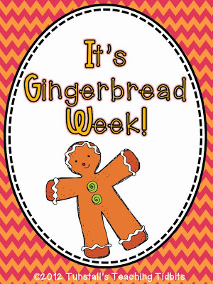 http://www.teacherspayteachers.com/Product/Gingerbread-Week-438706
