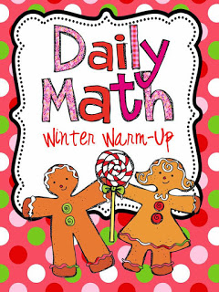http://www.teacherspayteachers.com/Product/Daily-Math-Winter-Warm-Up-419569
