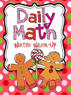 http://www.teacherspayteachers.com/Product/Daily-Math-Winter-Warm-Up-419569