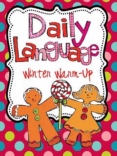 http://www.teacherspayteachers.com/Product/Daily-Language-Winter-Warm-Up-419575
