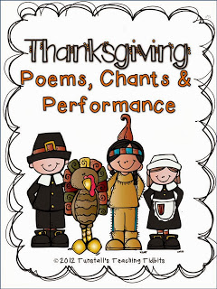 http://www.teacherspayteachers.com/Product/Thanksgiving-Poems-Chants-and-Performance-386612