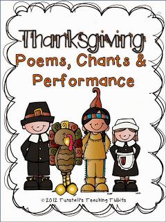 http://www.teacherspayteachers.com/Product/Thanksgiving-Poems-Chants-and-Performance-386612