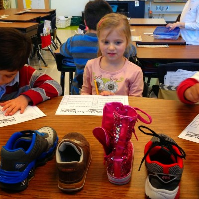 Take off One Shoe…For Fractions!