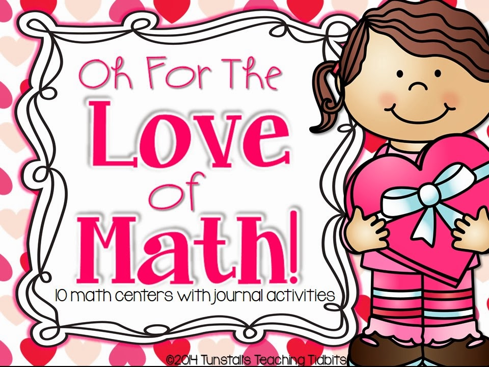 http://www.teacherspayteachers.com/Product/Oh-For-The-Love-of-Math-10-Math-Centers-with-Journal-Activities-1070946