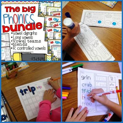 The Big Phonics Bundle!  {Purposeful Word Work}