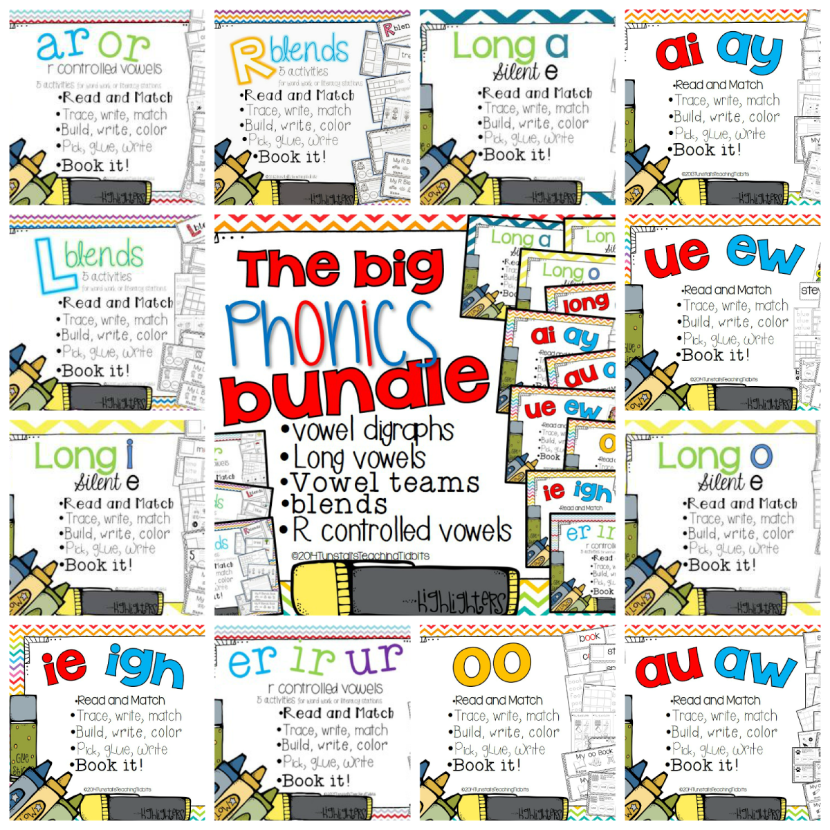 http://www.teacherspayteachers.com/Product/The-Big-Phonics-Bundle-Spelling-and-Phonics-Interactive-Activities-1172712
