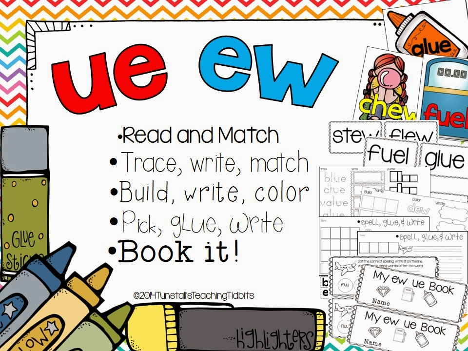 http://www.teacherspayteachers.com/Product/EW-and-UE-5-Interactive-Activities-1161822