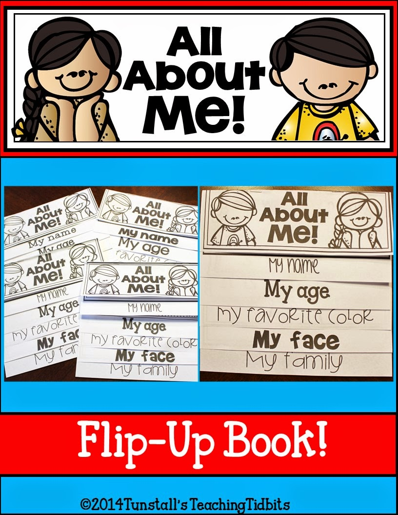 http://www.teacherspayteachers.com/Product/All-About-Me-Flip-Up-Book-1284836