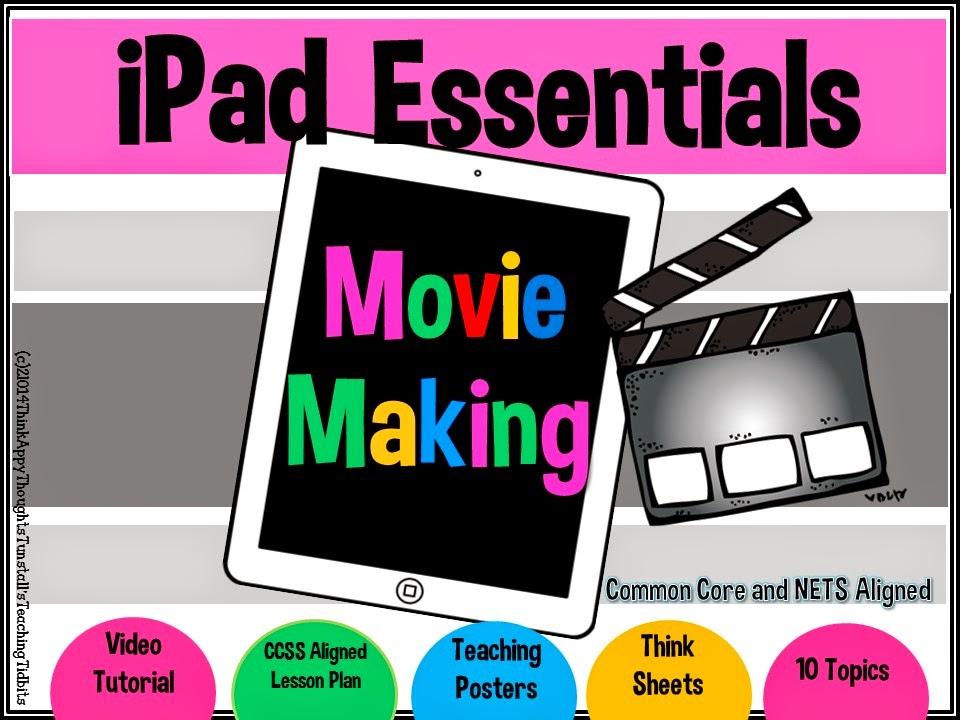 http://www.teacherspayteachers.com/Product/iPad-Essentials-Movie-Making-1268362