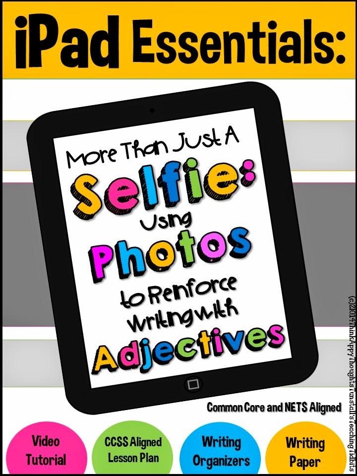 http://www.teacherspayteachers.com/Product/iPad-Essentials-More-Than-Just-a-Selfie-1268349