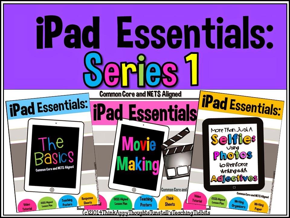 http://www.teacherspayteachers.com/Product/iPad-Essentials-Series-1-1268460