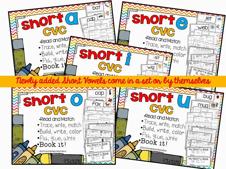 http://www.teacherspayteachers.com/Product/Short-Vowels-CVC-Spelling-and-Phonics-Interactive-Activities-1297127