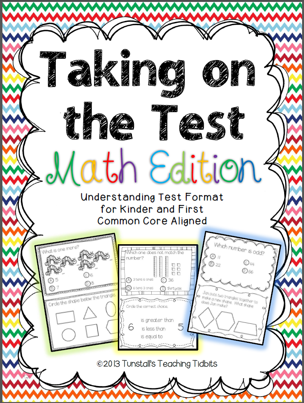 http://www.teacherspayteachers.com/Product/Taking-on-the-Test-Math-Edition-591481