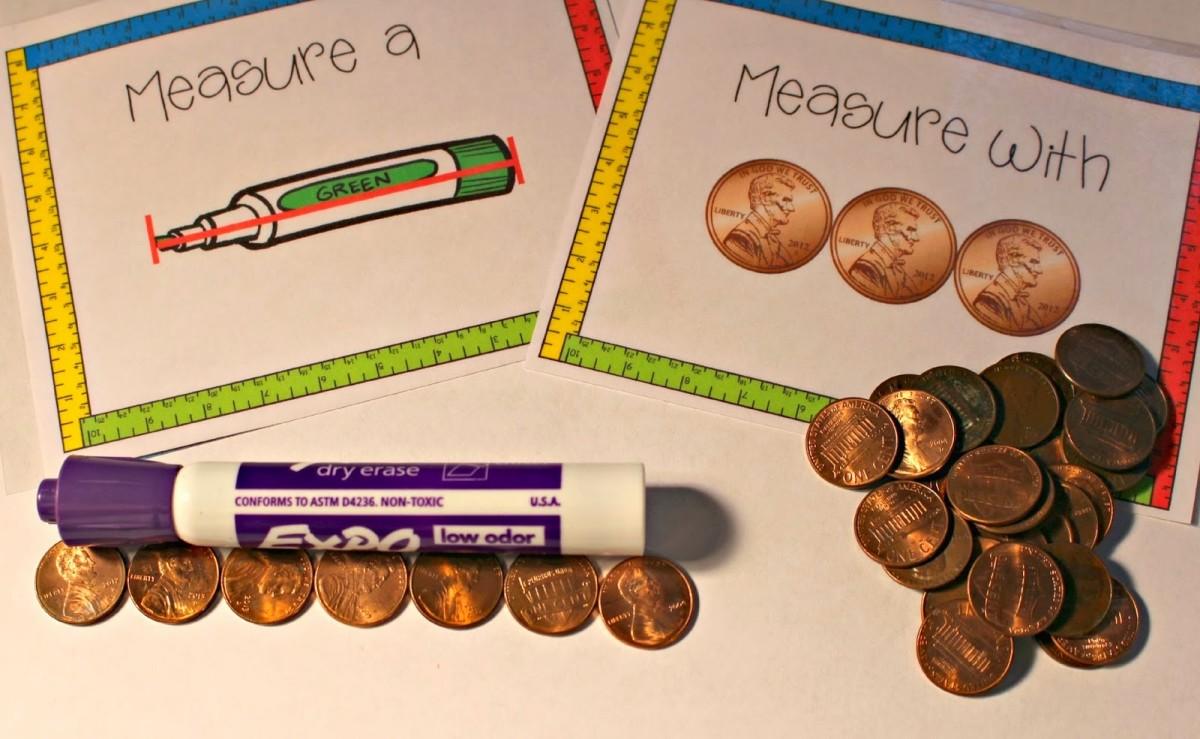 http://www.teacherspayteachers.com/Product/Mastering-Measurement-Non-Standard-and-Standard-Linear-Measurement-1104176