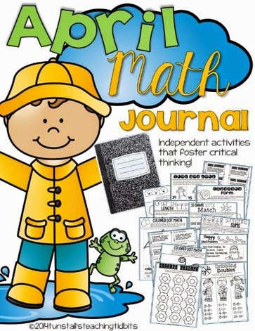 http://www.teacherspayteachers.com/Product/April-Math-Journal-Interactive-Printables-1141875