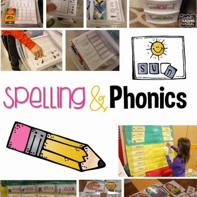 Christmas in July Day 4- Spelling/Phonics