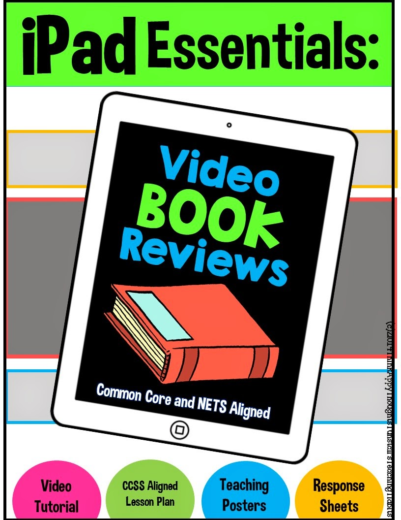 http://www.teacherspayteachers.com/Product/iPad-Essentials-Book-Reviews-1351920