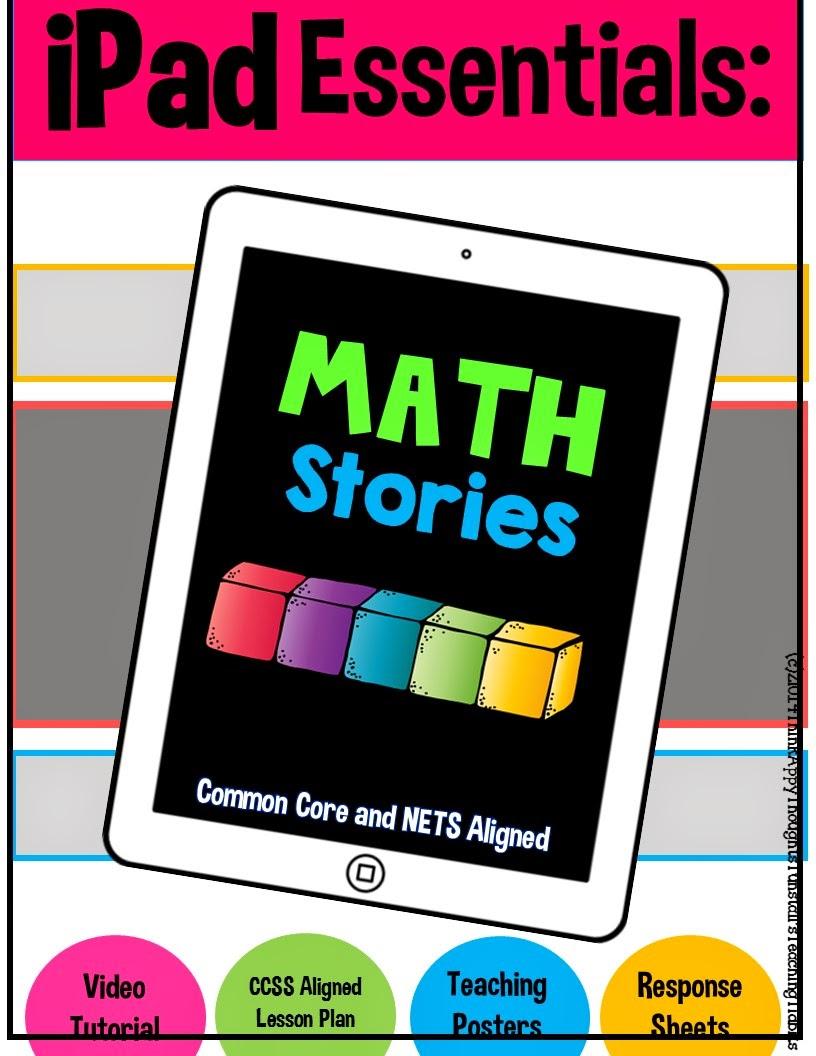 http://www.teacherspayteachers.com/Product/iPad-Essentials-Math-Stories-1357524